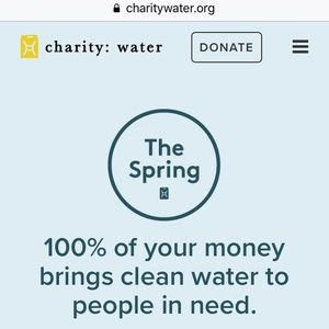 Other - A PORTION OF MY SALES GOES TO CHARITYWATER.ORG